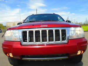 2004 Jeep Grand Cherokee LIMITED 4X4-4.7L V8-LEATHER-SUNROOF