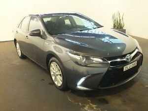 2015 Toyota Camry AVV50R MY15 Atara S Hybrid Graphite Continuous Variable Sedan Clemton Park Canterbury Area Preview