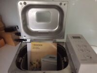 Kenwood bread maker. Used a few times. In very good condition. Available for immediate collection.