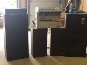 Original Technics Stereo System for Sale!!