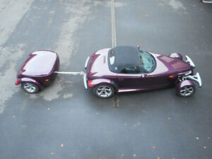 Plymouth PLYMOUTH PROWLER WITH TRAILER VERY RARE!!!