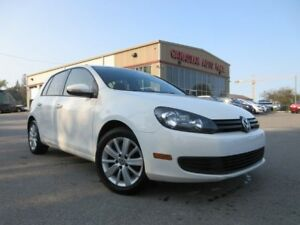 2013 Volkswagen Golf TRENDLINE, ROOF, ALLOYS, BT, 75K!