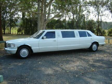 1985 Mercedes-Benz 500SEL Stretched Limousine