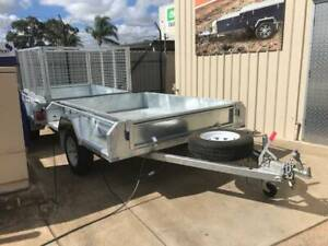 7x5 EAGLE BOX TRAILER FULLY GALVANISED HOT DIPPED Para Hills West Salisbury Area Preview