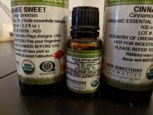 essential oil collection (4 bottles)