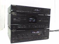Technics Stereo Amplifier, Tuner & Cassette Player - Heathrow