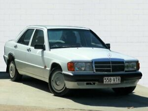 1992 Mercedes-Benz 180 E Limited Edition White 4 Speed Automatic Sedan Moorooka Brisbane South West Preview