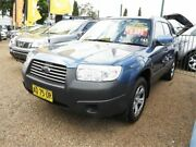 2007 Subaru Forester 79V MY07 X AWD Blue 4 Speed Automatic Wagon Minchinbury Blacktown Area Preview