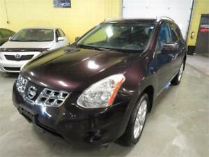 2011 Nissan Rogue SL No Accidents  Nav Camera Leather & More