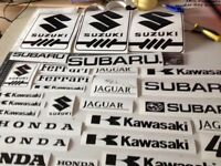 Any Vehicle Motor cycle or marine graphic you want for all manufacturers styles