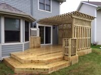 Deck, fences, patios and more