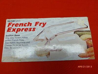 French Fry Express Small Kitchen Appliance Fox Run Craftsman Original Box EUC