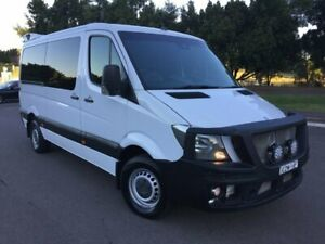 2015 Mercedes-Benz Sprinter 906 MY14 316 CDI MWB White 7 Speed Automatic Cab Chassis Homebush West Strathfield Area Preview
