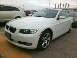 2008 BMW 328I CONVERTIBLE *WHITE ON RED,LOADED,PRICED TO SELL!!*