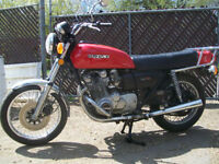 1977 SUZUKI GS750 REALLY GOOD CONDITION $2500