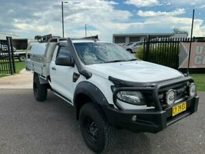 2014 Ford Ranger PX XL White 6 Speed Sports Automatic Cab Chassis Singleton Singleton Area Preview