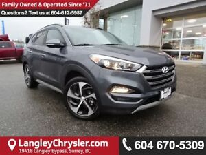 2017 Hyundai Tucson Limited *ACCIDENT FREE*ONE OWNER*LOCAL BC...