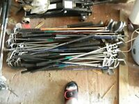golf clubs job lot (boot sale)