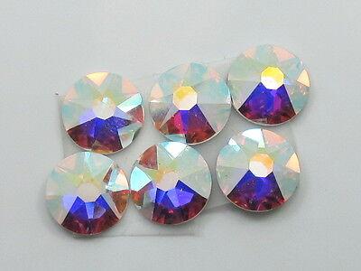 20ss Crystal Ab Swarovski Rhinestones - 20ss CRYSTAL AB swarovski rhinestones 72pcs