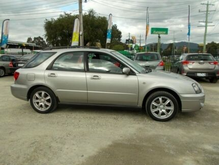 2005 Subaru Impreza S MY05 RS AWD Silver 4 Speed Automatic Hatchback Bayswater North Maroondah Area Preview