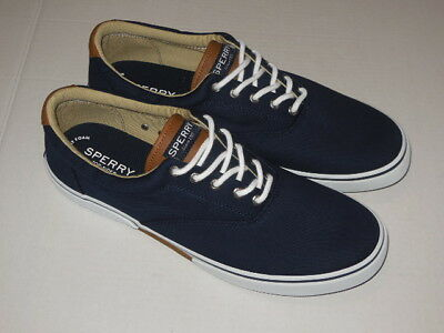 4cdcc98f7 Sperry Top-Sider Men s Halyard CVO SATURATED NAVY Boat Shoe MENS SIZE 8 M