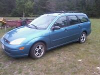 2000 Ford Focus Fourgonnette, fourgon