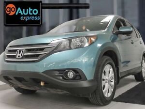2014 Honda CR-V EX-L AWD with sunroof, heated power leather seat