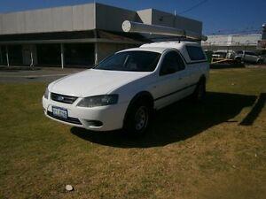 2007 Ford Falcon RTV MARK II GAS UTE 3677 White Automatic Utility Maddington Gosnells Area Preview