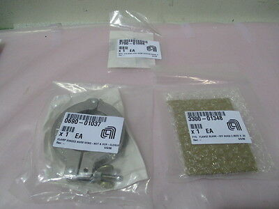 AMAT 0690-01037 Clamp, 3300-01348 Flange Blank-off, 3700-01088 Seal Ring, 422304