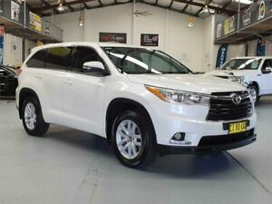 2016 Toyota Kluger GSU55R GX (4x4) Crystal White Pearl 6 Speed Automatic Wagon Seven Hills Blacktown Area Preview