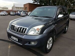 2003 Toyota Landcruiser Prado GRJ120R Grande (4x4) Grey 4 Speed Automatic Wagon Georgetown Newcastle Area Preview