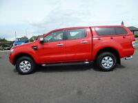 Ford Ranger XLT 4X4 DCB TDCI (red) 2012-12-07