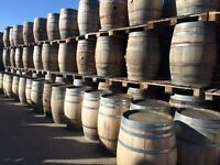 Whiskey Barrels - High Quality Oak - Delivery Available