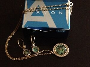 Brand New Avon  Necklace & Matching Earrings Cambridge Kitchener Area image 1