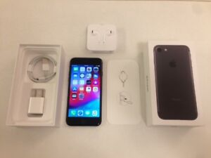 Like New 128GB Black iPhone 7 (Factory Unlocked) with Box