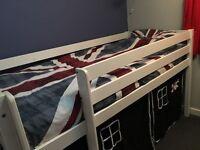 Pirates Cabin Bed (white)