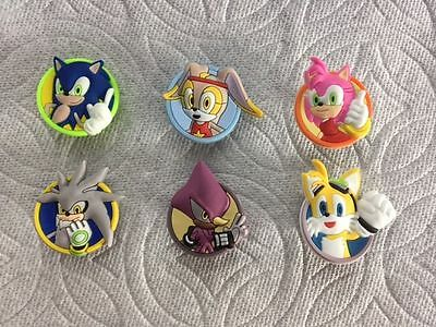 Sonic Tails Girl (CARTOON SHOE CHARMS FITS CROCS SILVER AMY CREAM TAILS SONIC SHOE CHARMS)