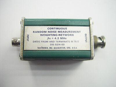 Tektronix 015-0214-00 Continuous Random Noise Measurement Weighting Network