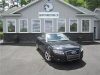 2007 Audi A4 Convertible  ONLY B/W TAXES IN OAC