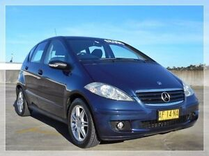 2005 Mercedes-Benz A170 W169 Classic Blue 7 Speed Constant Variable Hatchback North Curl Curl Manly Area Preview