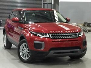 2016 Land Rover Range Rover Evoque L538 MY17 TD4 150 Pure Red Sports Automatic Wagon