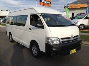 2012 Toyota Hiace TRH223R MY12 Upgrade Commuter White 4 Speed Automatic Bus Sutherland Sutherland Area Preview