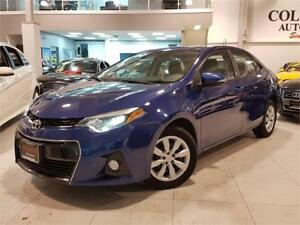 2014 Toyota Corolla S-SPORT-AUTO-CAMERA-HEATED SEATS-ONLY 85KM