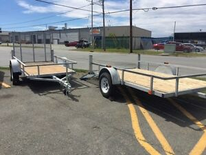 "76"" x 120"" , 5' x 8' , 18' car hauler -MORE TRAILERS AVAILABLE"