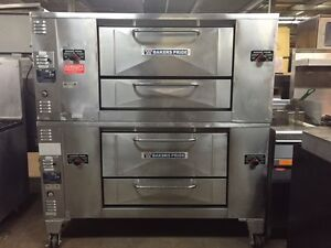 BAKERS PRIDE PIZZA OVEN, D125 SINGLE DECK, NATURAL GAS