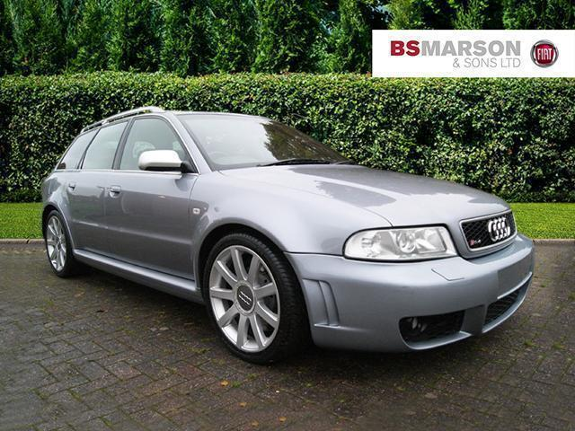 2001 audi a4 rs4 b5 avant quattro petrol silver manual. Black Bedroom Furniture Sets. Home Design Ideas