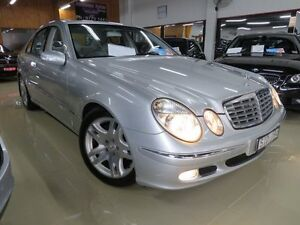 2003 Mercedes-Benz E240 211 Elegance Silver & Chrome 5 Speed Auto Touchshift Sedan Seaford Frankston Area Preview