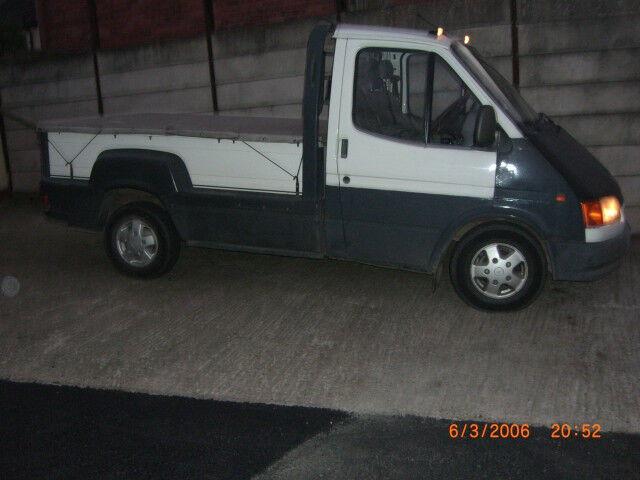 ford transit 2.5 di mk5 flareside pickup