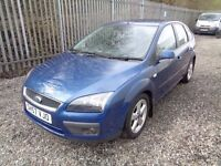 FORD FOCUS 1.6 PETROL CLIMATE BLUE 2007 5 DOOR 82,000 MILES FULL SERVICE HISTORY M.O.T 19/04/18