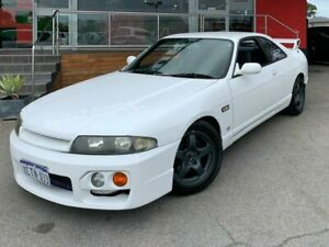 1997 Nissan Skyline R33 GTS-T Coupe 2dr Man 5sp 2.5T I/C White Manual Coupe